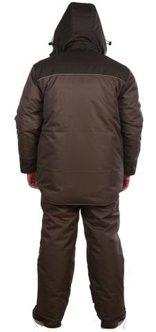 Зимний рыболовный костюм с полукомбинезоном Fisher