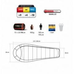Купить Летний спальный мешок Trimm IMPACT, 195 R напрямую от производителя недорого.