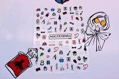 Наклейки NogteModa №048