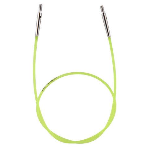 Тросик (заглушки 2шт, кабельный ключик) для съемных спиц, длина 35 (60)см, KnitPro, 10633