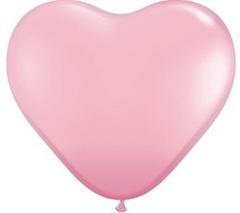 """Шар 75 см """"Розовое сердце"""""""