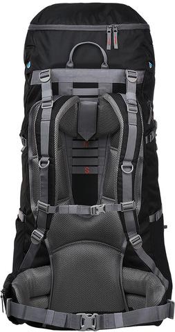 Картинка рюкзак туристический Trek Planet Makalu 95 черный - 3