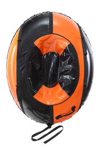 Санки-ватрушка SnowDream Classic Strela 2 оранжево-черная
