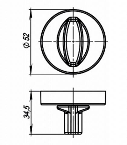 WC-BOLT BK6/URB BPVD-77