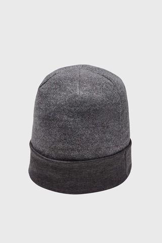Мужская темно-серая шапка CGI Fleece Beanie Under Armour
