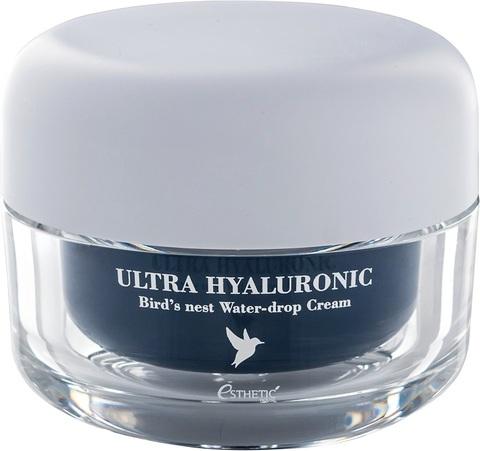 ESTHETIC HOUSE ЛАСТОЧКА/ГИАЛУРОН Крем для лица Ultra Hyaluronic acid Bird's nest Water- drop Cream, 50 мл