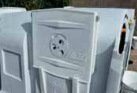 1135153 Люк доступа с вентиляционной заслонкой для домика для телят 1135143