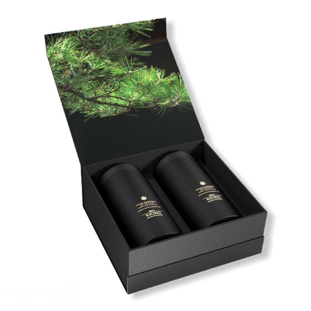 KIOKO EMI ESSENCE 9-2055001 Подарочный набор чёрного чая, 200 г (2х100 г)