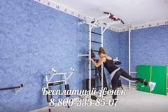 Усиленная шведская стенка с блочным тренажером №5