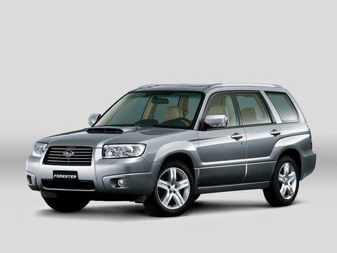 Чехлы на Subaru Forester 2002–2008 г.в.
