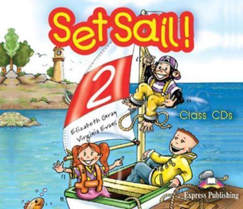 Set Sail 2. Class Audio CDs. (set of 3). Beginner. Аудио CD для работы в классе