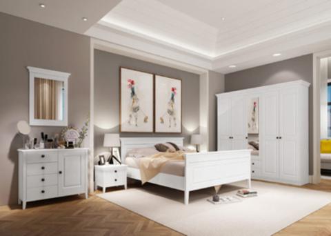 Белая спальня Боцен