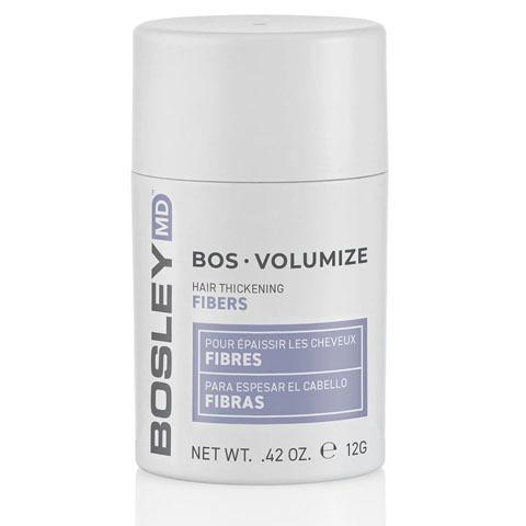 Bosley MD BosVolumize: Волокна кератиновые - Черные (BosVolumize Hair Thickening Fibers - Black), 12г