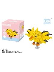Конструктор Wisehawk & LNO Покемон Запдос 211 деталей NO. 288 Zapdos Pokemon Gift Series