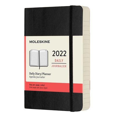 Ежедневник Moleskine (DSB12DC2) Classic Soft Pocket 90x140мм 400стр. мягкая обложка черный