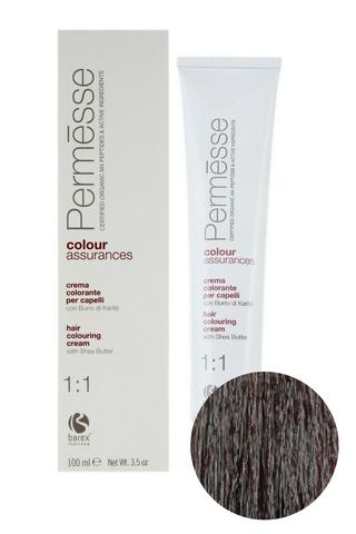 Крем-краска для волос 5.3 Светлый каштан золотистый Permesse, Barex