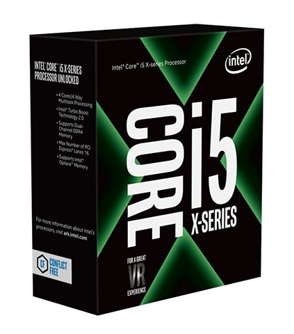 Процессор Intel Core i5-7640X Kaby Lake (4000MHz, LGA2066, L3 6144Kb)