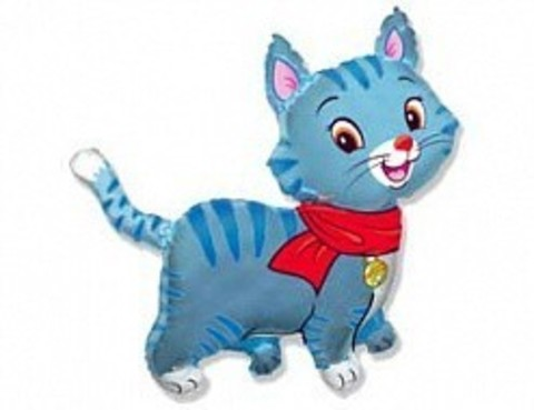 Котенок голубой