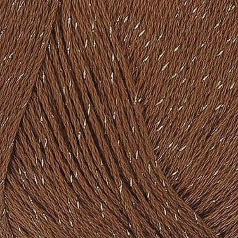 Пряжа Блестящее лето Пехорка 416 Светло-коричневый, фото