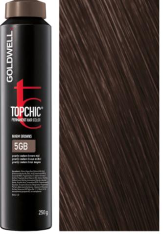Goldwell Topchic 5GB светло-коричневый золотистый блондин TC 250ml