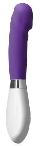 Фиолетовый вибратор Asopus - 21 см.