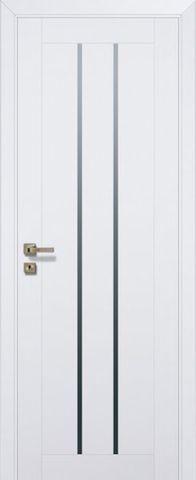 Дверь № 49 U (аляска, остекленная экошпон), фабрика Profil Doors