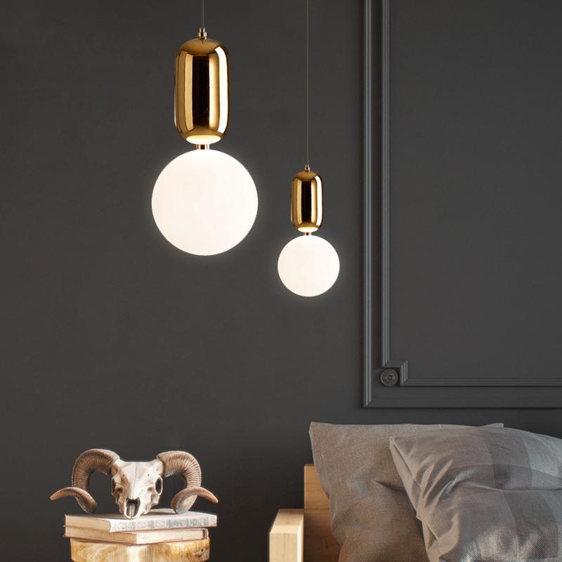 Подвесной светильник Aballs  by Parachilna (золотой, D15)