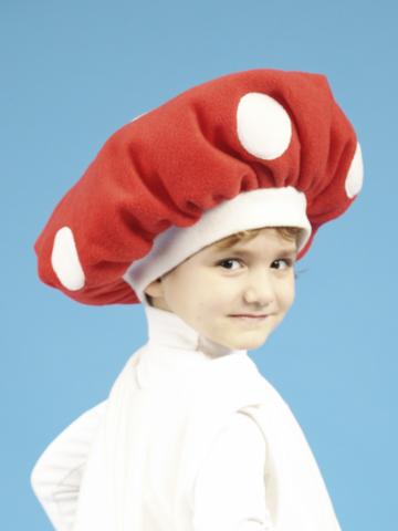 Карнавальная шапочка Мухомор