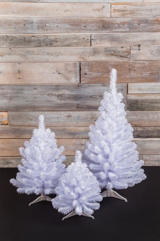 Искусственная елка Исландская 60 см белоснежная