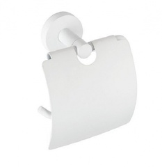 Держатель для туалетной бумаги с крышкой Bemeta White 104112014 фото