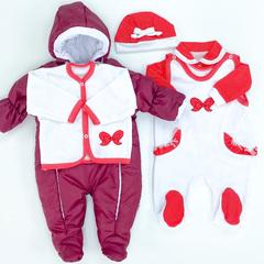Комплект комбинезон + набор одежды
