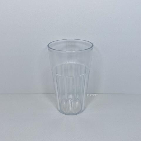 Коктейльный бокал пластиковый стеклоподобный 420 мл