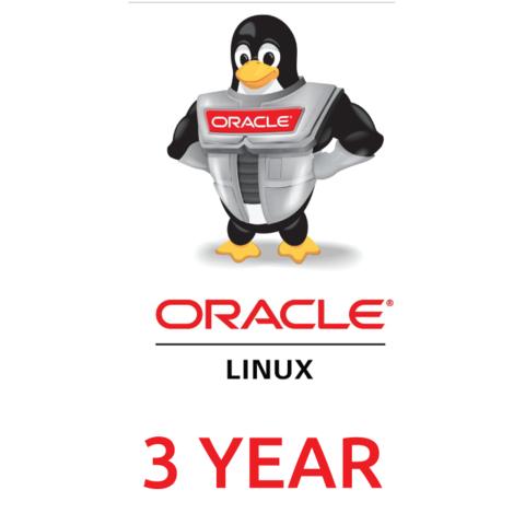 Сертификат на техническую поддержку Oracle Linux Premier Limited (3 Year Support)