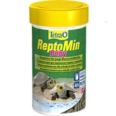 Корм для молоди водных черепах, Tetra ReptoMin Baby, 100 мл
