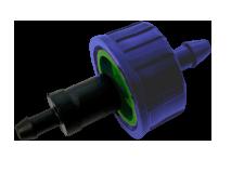 Комплект капельница PC 8 л/ч + адаптер для микротрубки