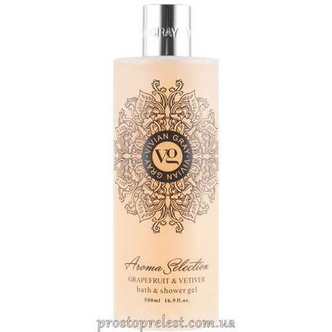 Vivian Gray Aroma Selection Grapefruit & Vetiver Bath-Shower Gel - Гель для душа