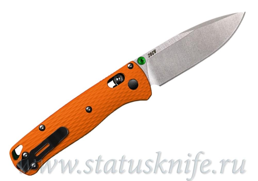 Нож Benchmade CU535-SS-20CV-G10-ORG Bugout - фотография