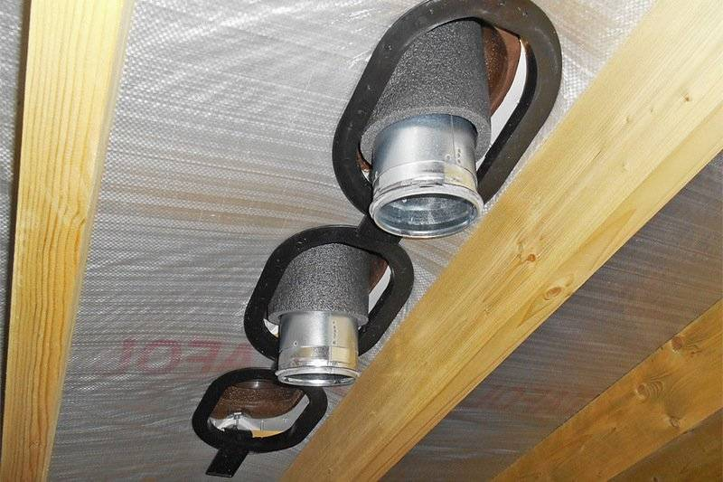 Комплект уплотнений для прохода через вентзазор (гидрозамок), К5