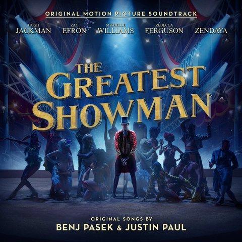 Виниловая пластинка. The Greatest Showman Soundtrack