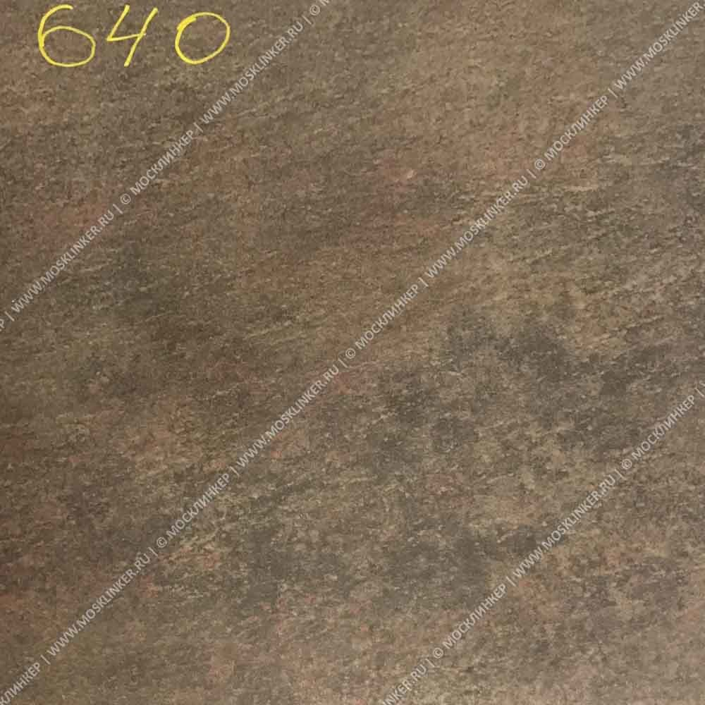 Stroeher - Keraplatte Asar 640 maro 345x345x12 артикул 9331 - Угловая клинкерная ступень - флорентинер