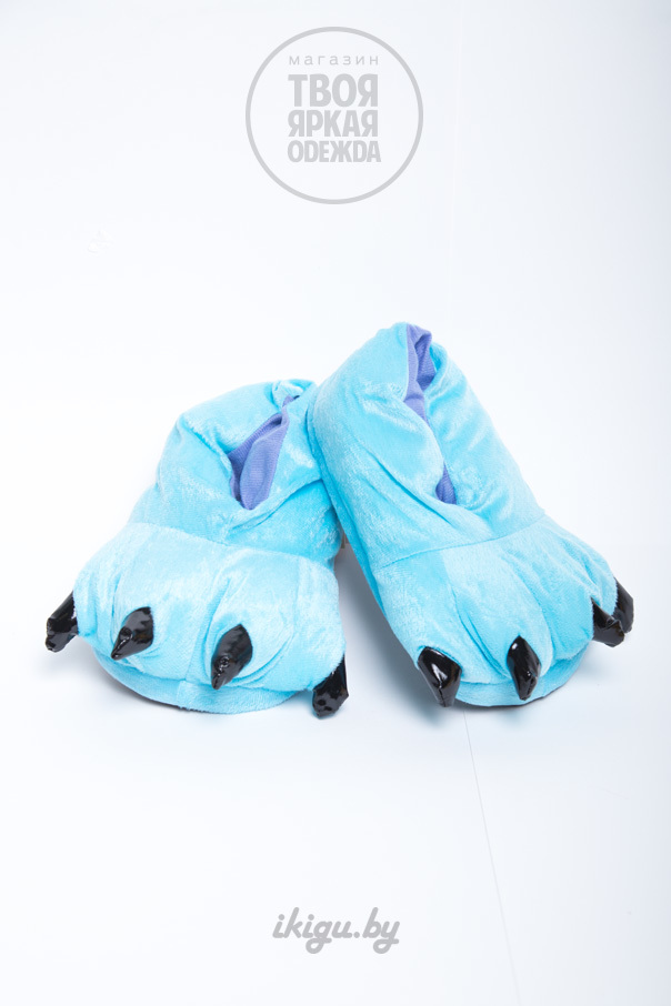 Тапочки Тапочки Голубые kogty_blue.jpg
