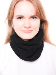 шарф воротник черный