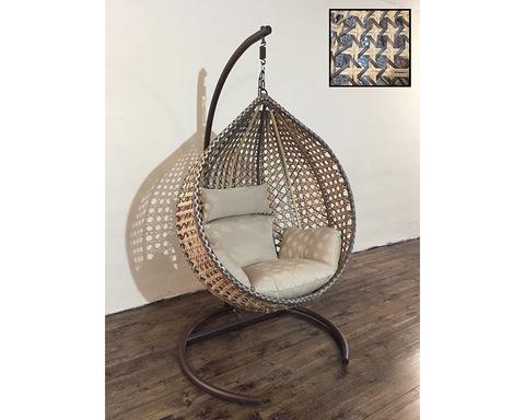 Подвесное кресло Арриба Кантри бежевая