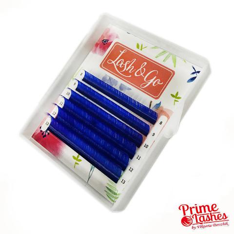 Ресницы цветные Lash&Go микс, 6 линий