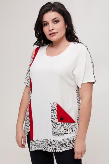 Туника Эльвира (белый)