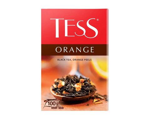 купить Чай черный листовой Tess Orange, 100 г