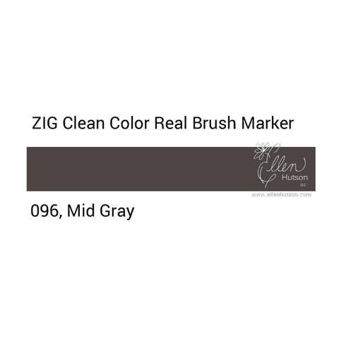 Маркер акварельный ZIG Clean Color Real Brush- штучно - 096