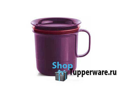 Заварочная чашка для чая Tupperware в фиолетовом цвете