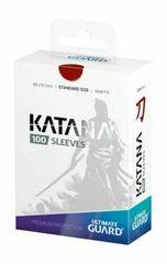Протекторы Ultimate Guard Katana красные (100 штук)