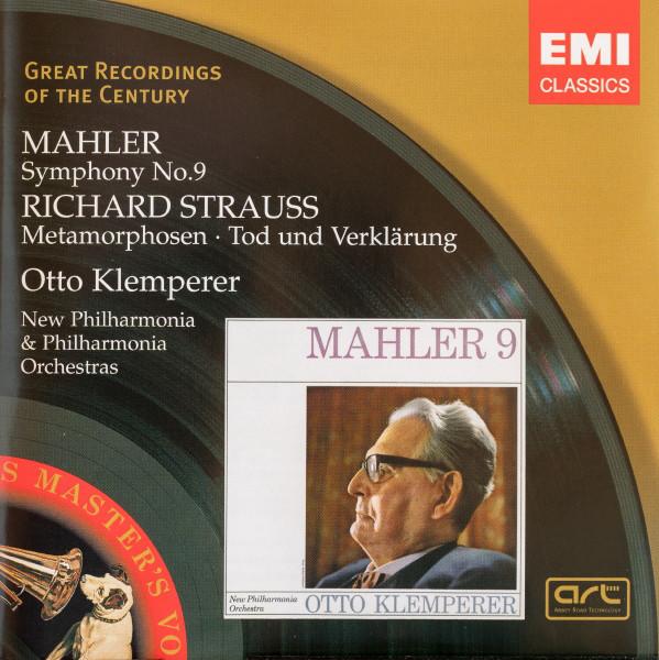 KLEMPERER, OTTO:  Symphony No. 9 / Metamorphosen, Tod Und Verklärung